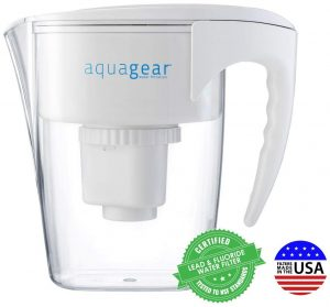 AQUAGEAR- 8 cup water purifier pitcher