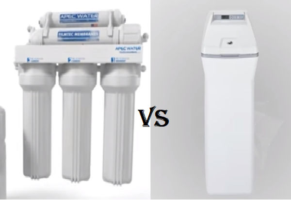 Comparison of Water filter and Water Softener