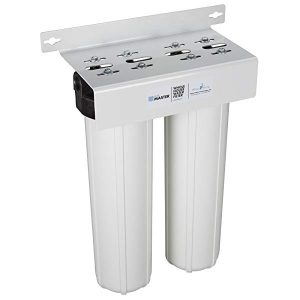Home Master HMF2SMGCC Whole House 2-Stage Water Filter with Multi Gradient Sediment and KDF85/Catalytic Carbon