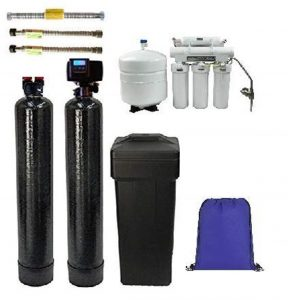 ABCwaters Triple Combo Whole House Fleck 5600sxt Water Softener System – Offers Decent Flow Rate