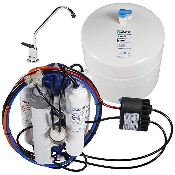 Home Master TMULTRA-ERP Undersink Reverse Osmosis Water Filter System – Best RO System for Well Water