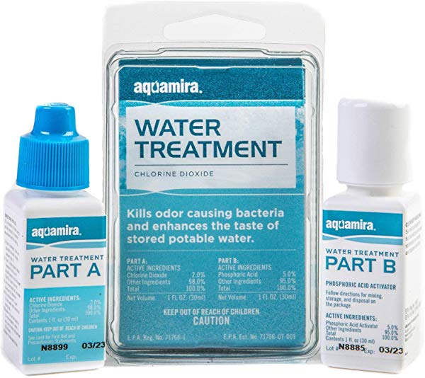 Aquamira water treatment filter