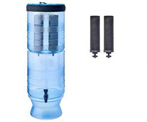 High tech light gravity water purifier