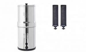 Berkey gravity-fed water purifier