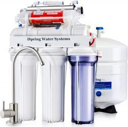 iSpring water filter with remineralization and UV sterilizer