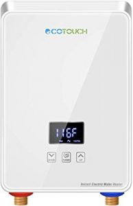 Ecotouch tankless water heater