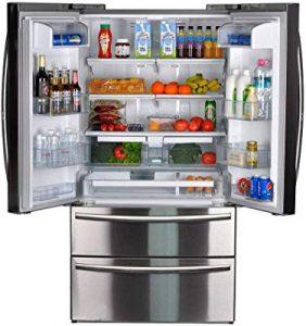 SMETA french door refrigerator