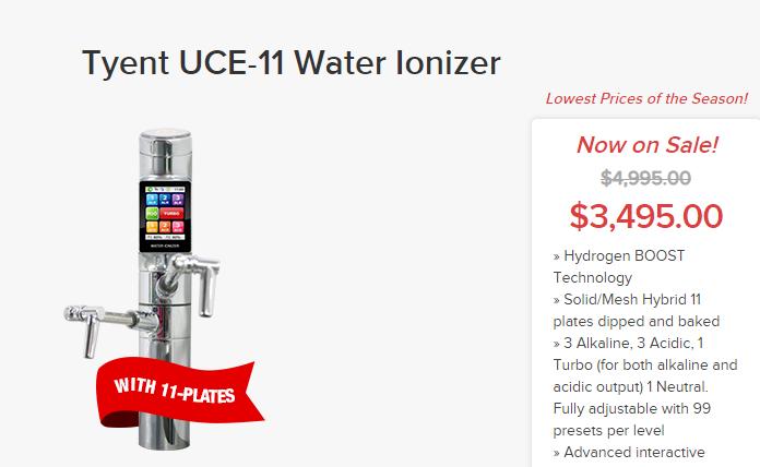 Tyent UCE-11 sale