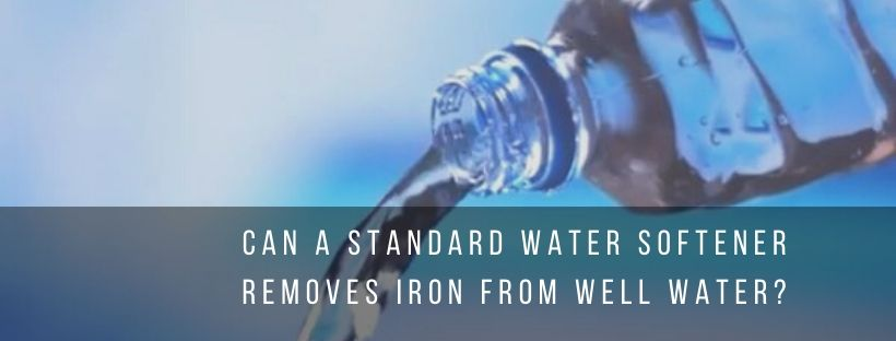 Water softener uses for well water
