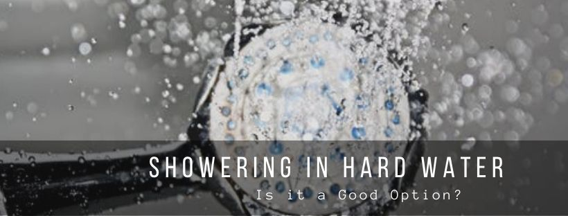 is it good to shower in hard water