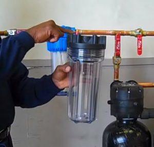 prefilter for water softener