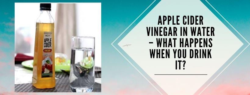 Apple cider vinegar uses for health