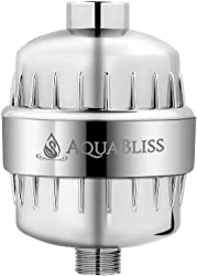 AquaBliss shower filter with advanced system