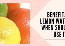 Benefits of Lemon Water and When Should We Use It