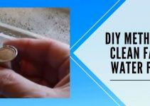 7 Steps DIY Method to Clean Faucet Water Filter
