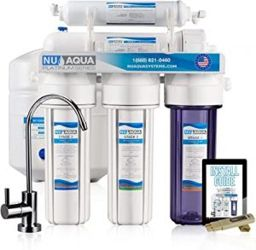 NU Aqua water filter for whole house