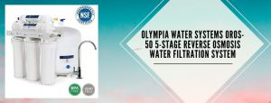 Olympia RO 5-Stage water filter