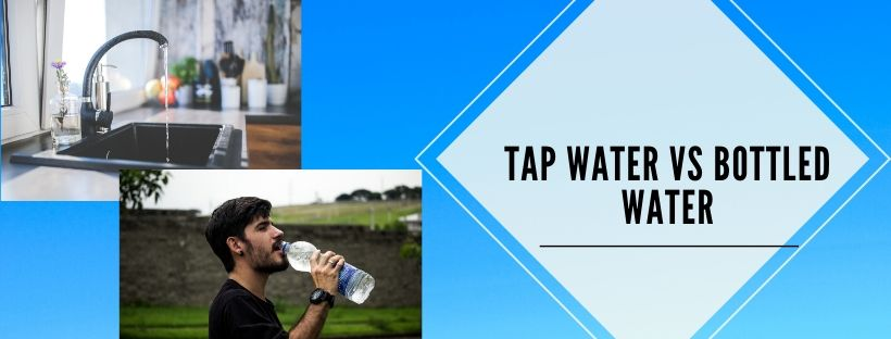comparison of tap water and bottled water