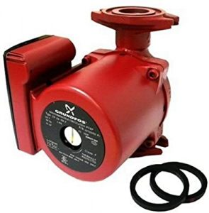 Grundfos hot water recirulating pump
