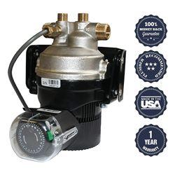 Laing recirculating pump for hot water heater