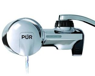 PUR horizontal faucet mount filtration system