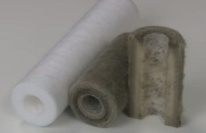 different sizes of sediment filter