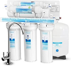 Geekpure RO water filter with Alkaline Mineral pH+ Remineralization Filter