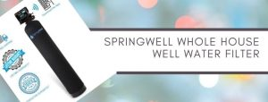 SpringWell water filter with lifetime warranty