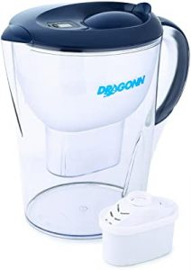 Dragonn compact water filter pitcher