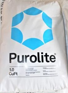 Purolite water softener