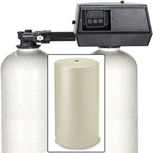 Abundant water softener with enhanced water flow